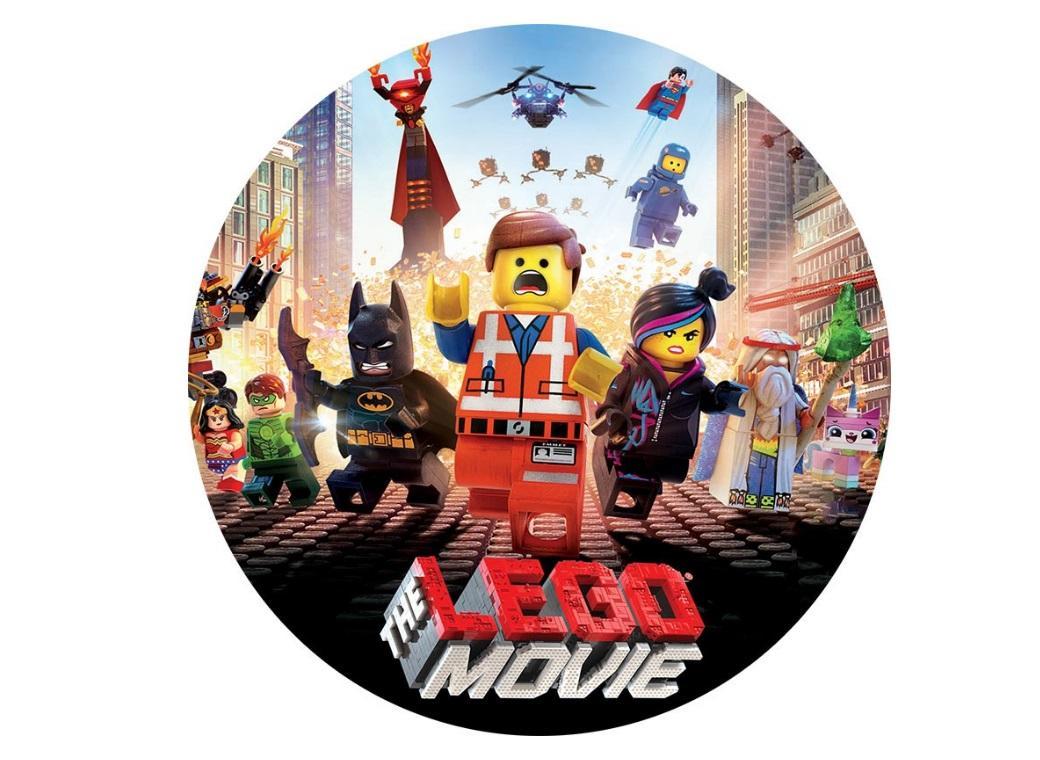 Edible Image Round - Lego