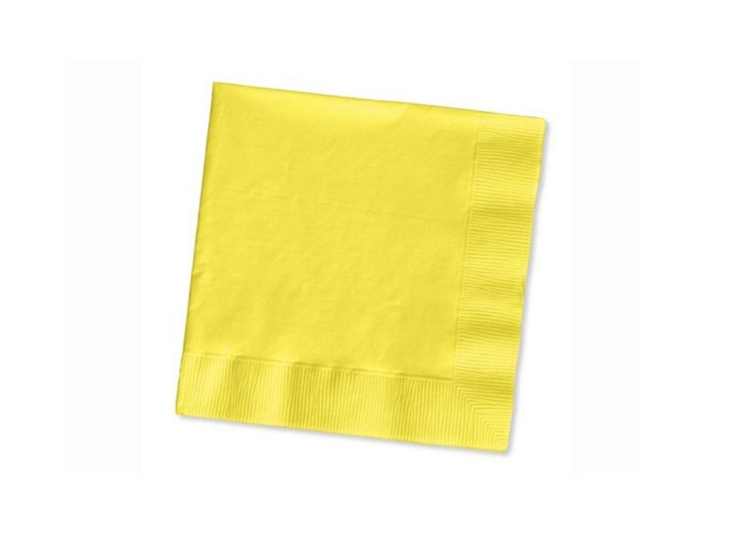Lemon Beverage Napkins 50pk