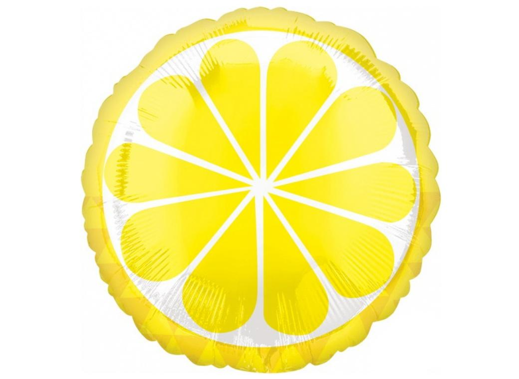 Lemon Foil Balloon