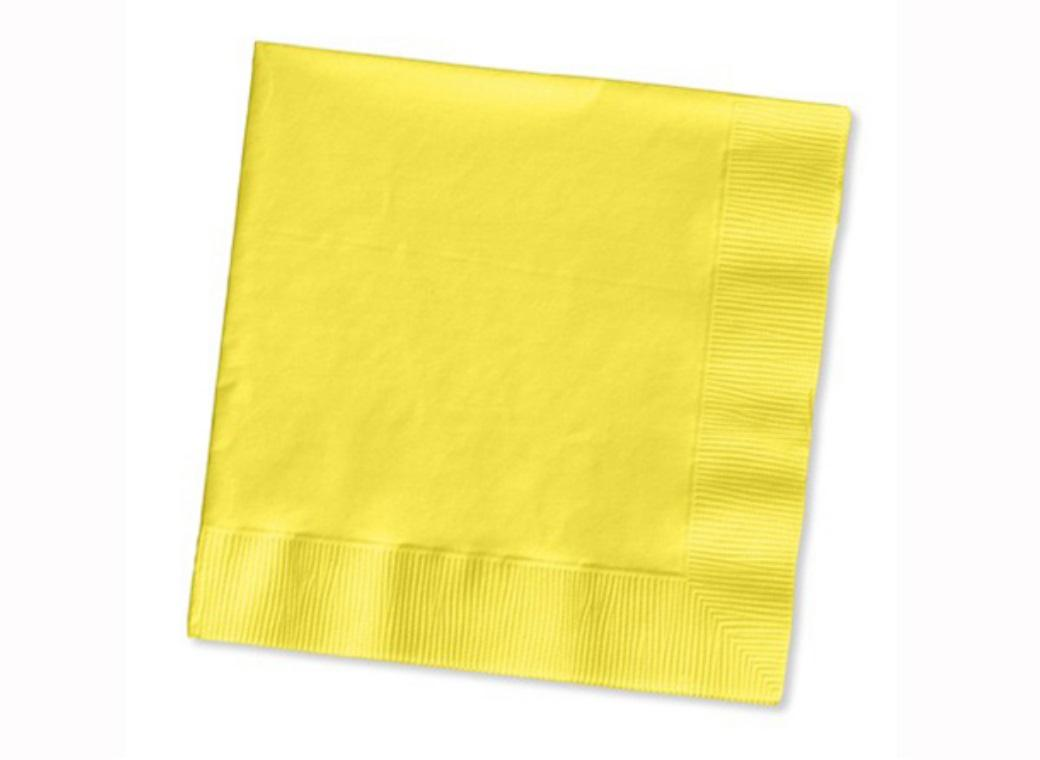 Lemon Lunch Napkins 50pk