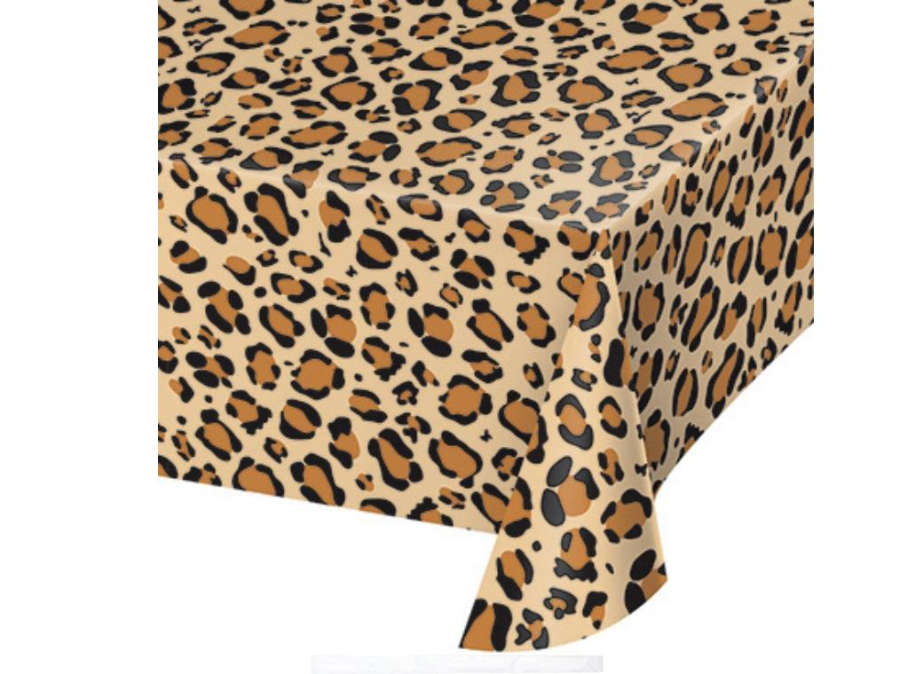 Leopard Print Table Cover
