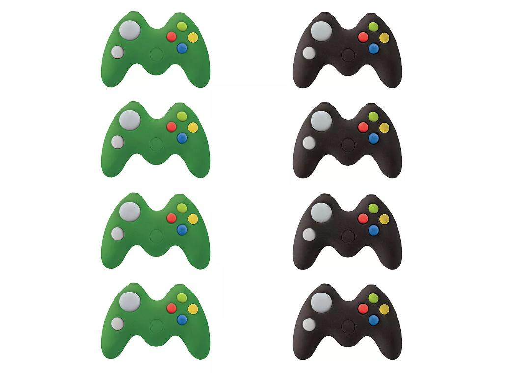 Level Up Game Controller Erasers 8pk