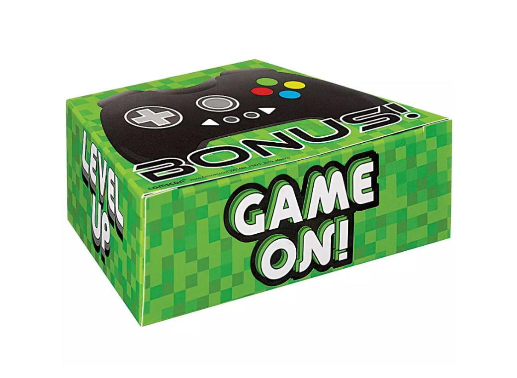 Level Up Game Controller Favour Boxes 8pk