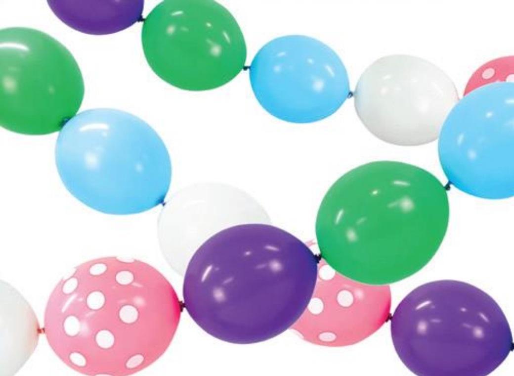 Linking Balloons - Pastel