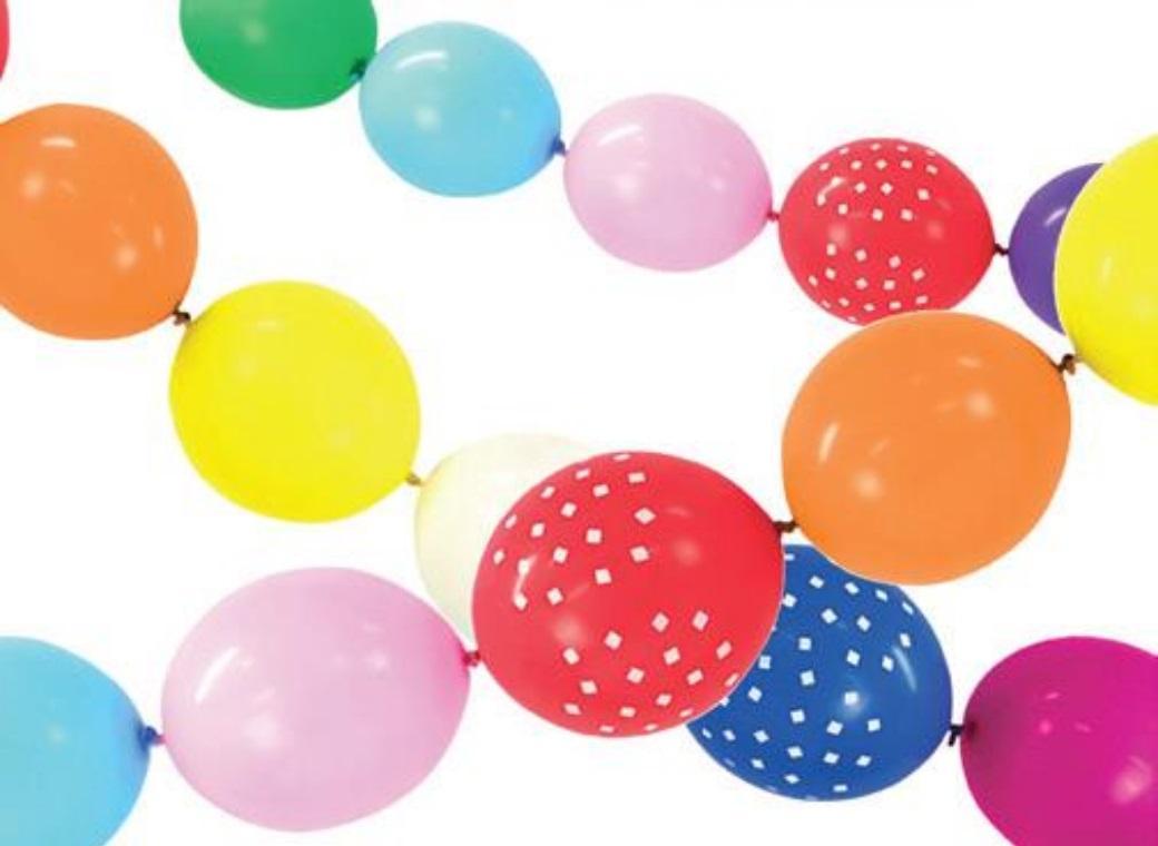Linking Balloons - Rainbow