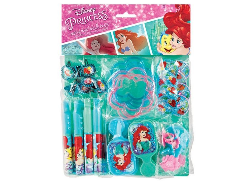 The Little Mermaid Favour Pack - 48pce