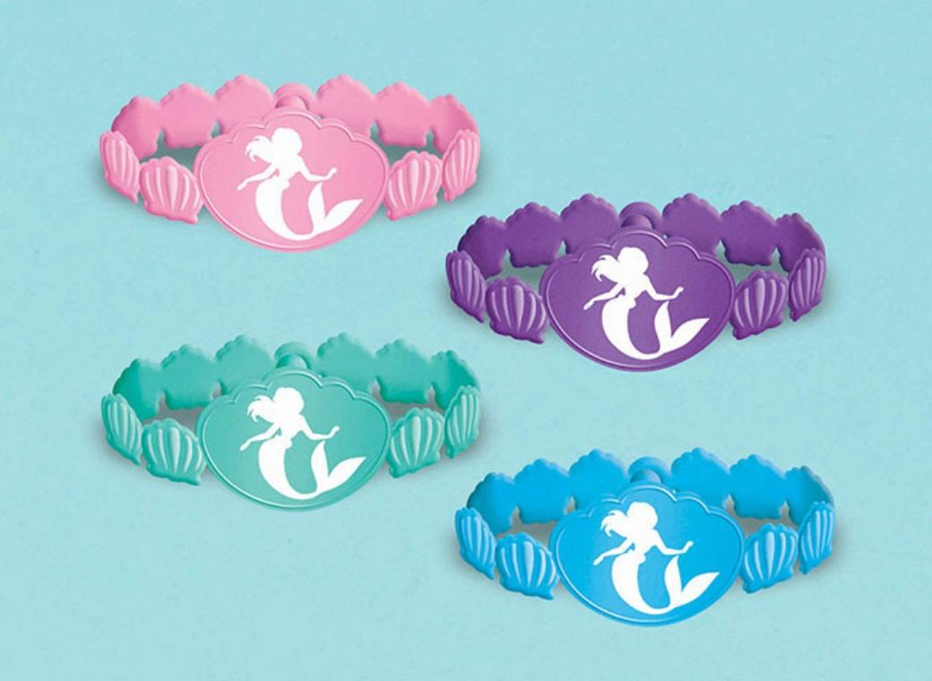 The Little Mermaid - Rubber Bracelets 6pk