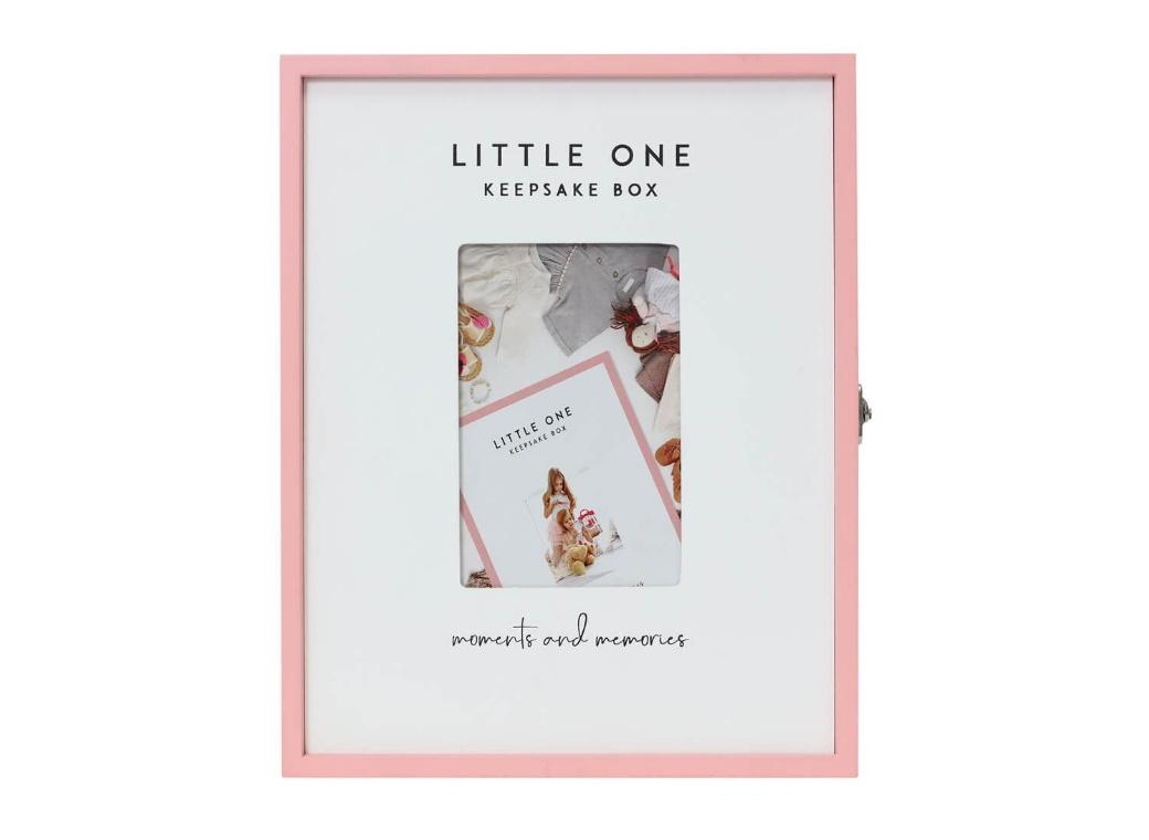 Little One Keepsake Box Pink
