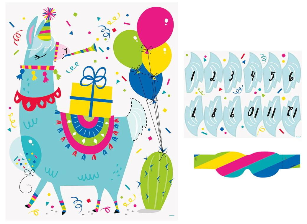 Llama Birthday Party Game