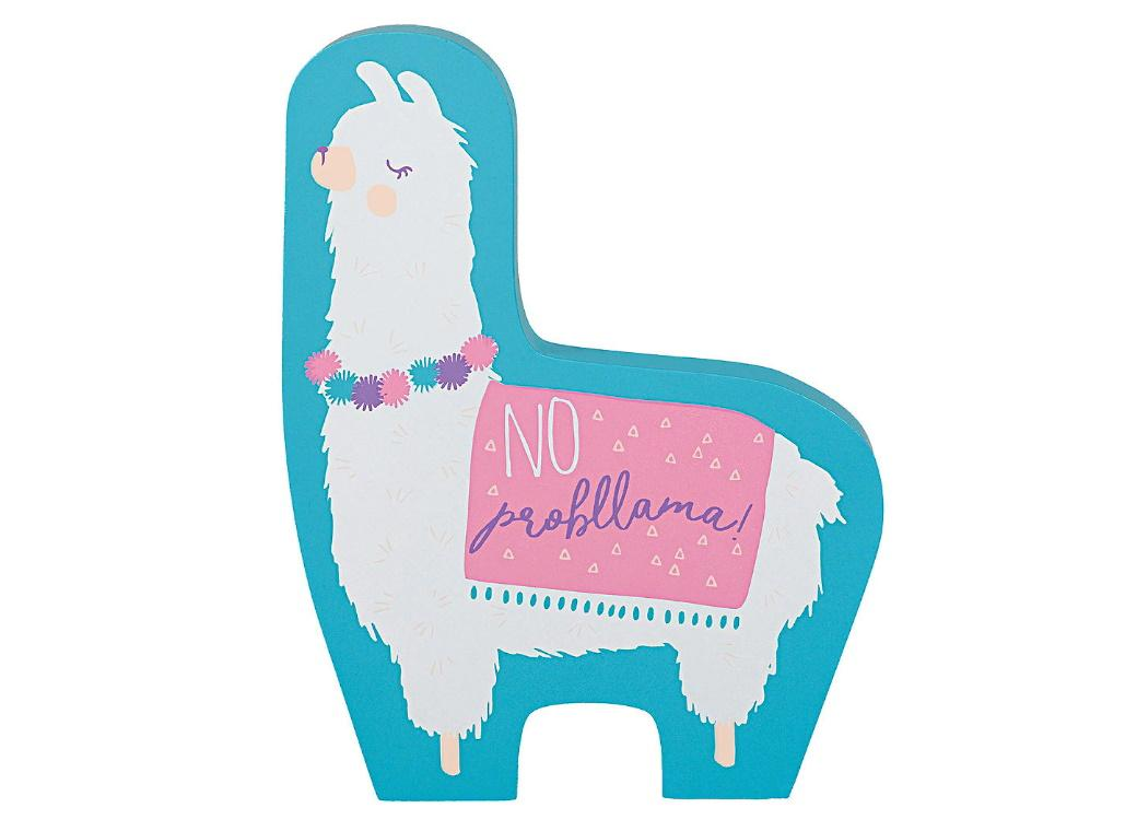 Llama Fun Mini Sign