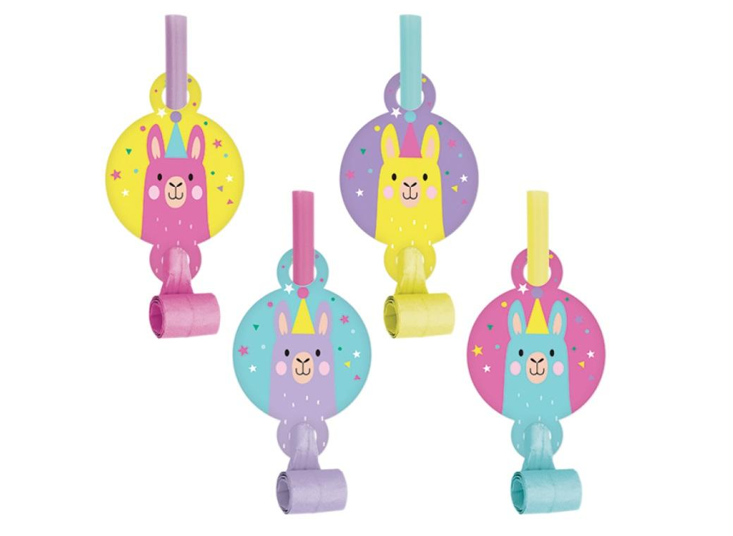 Llama Party Blowouts 8pk