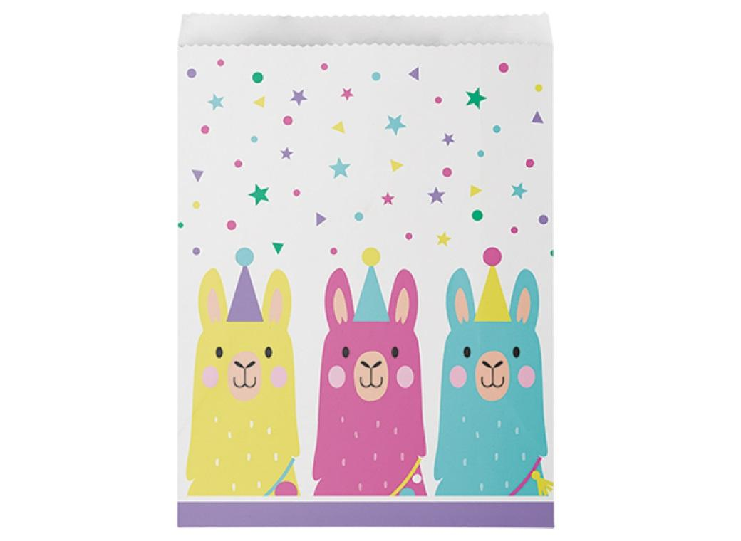 Llama Party Treat Bags 10pk