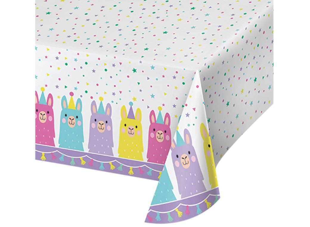 Llama Party Tablecover