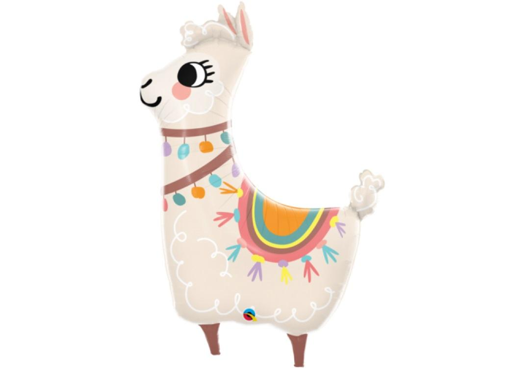 Loveable Llama SuperShape Balloon