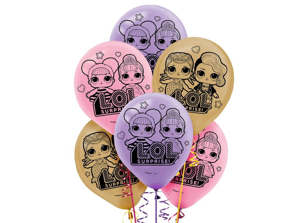 LOL Surprise Balloons 6pk