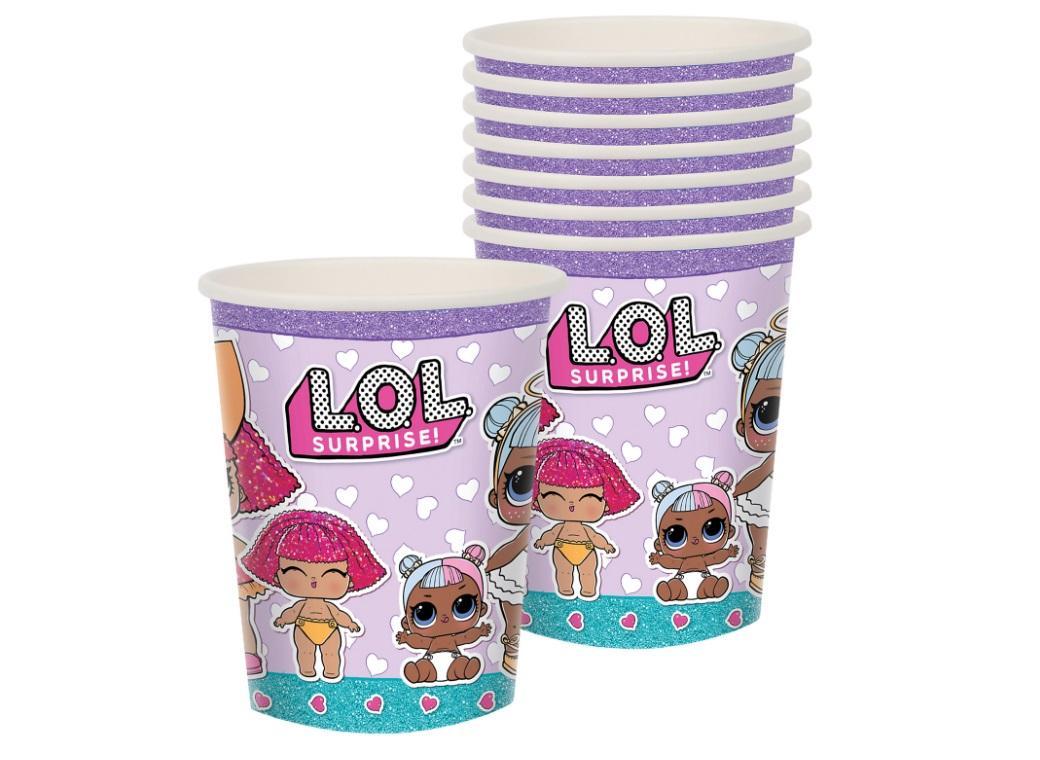 LOL Surprise Cups 8pk