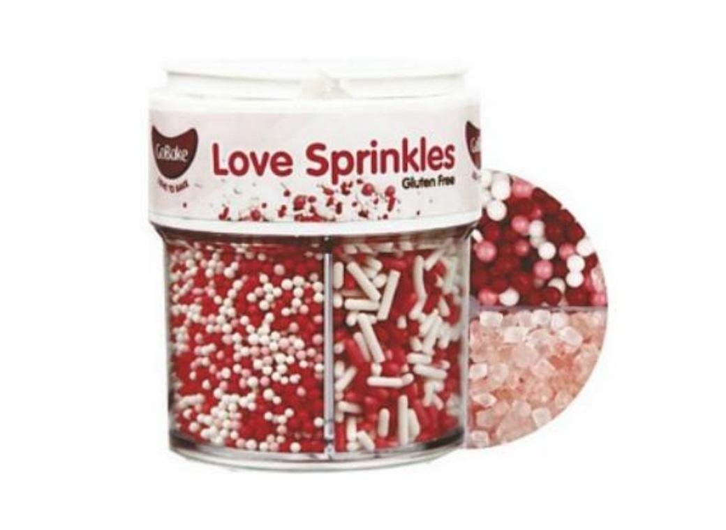 GoBake Sprinkles Collection - Love