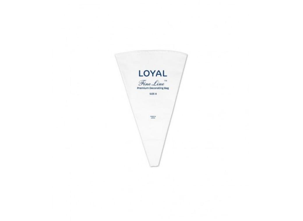 LOYAL Fine Line Premium Piping Bag - Size 8