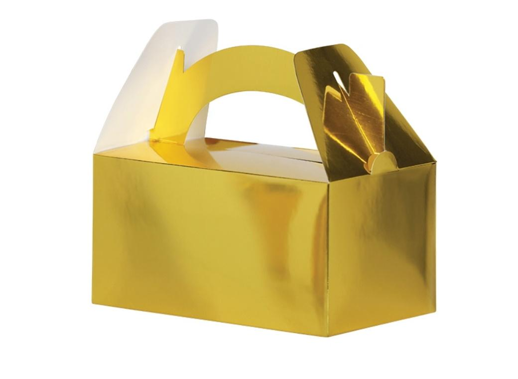 Lunch Boxes 5pk Gold