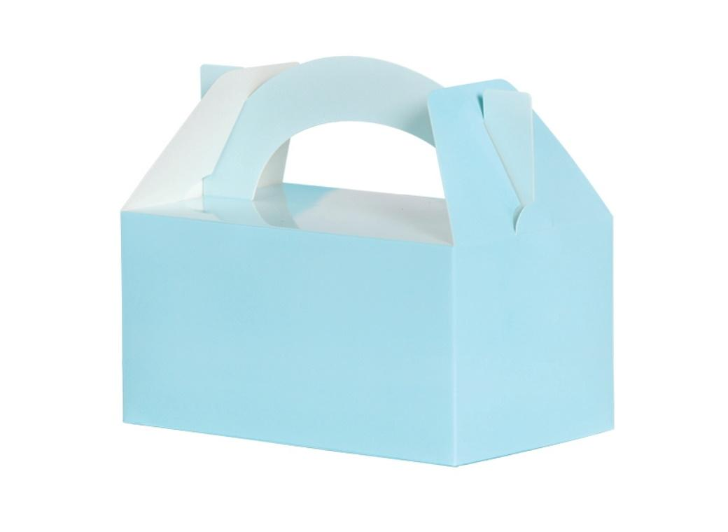 Lunch Boxes 5pk Pastel Blue
