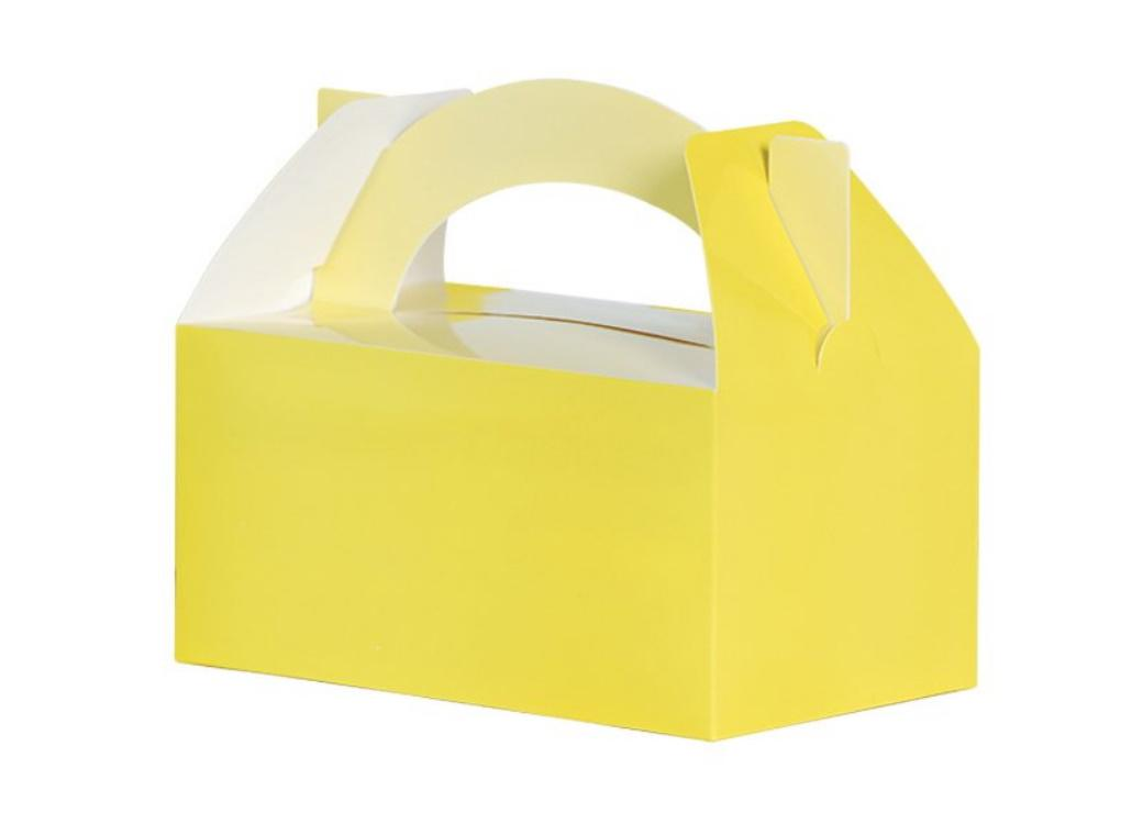 Lunch Boxes 5pk Pastel Yellow