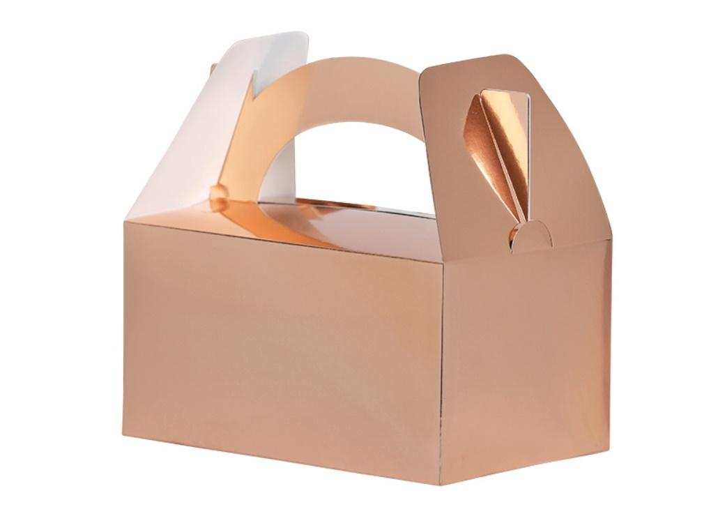 Lunch Boxes 5pk Rose Gold