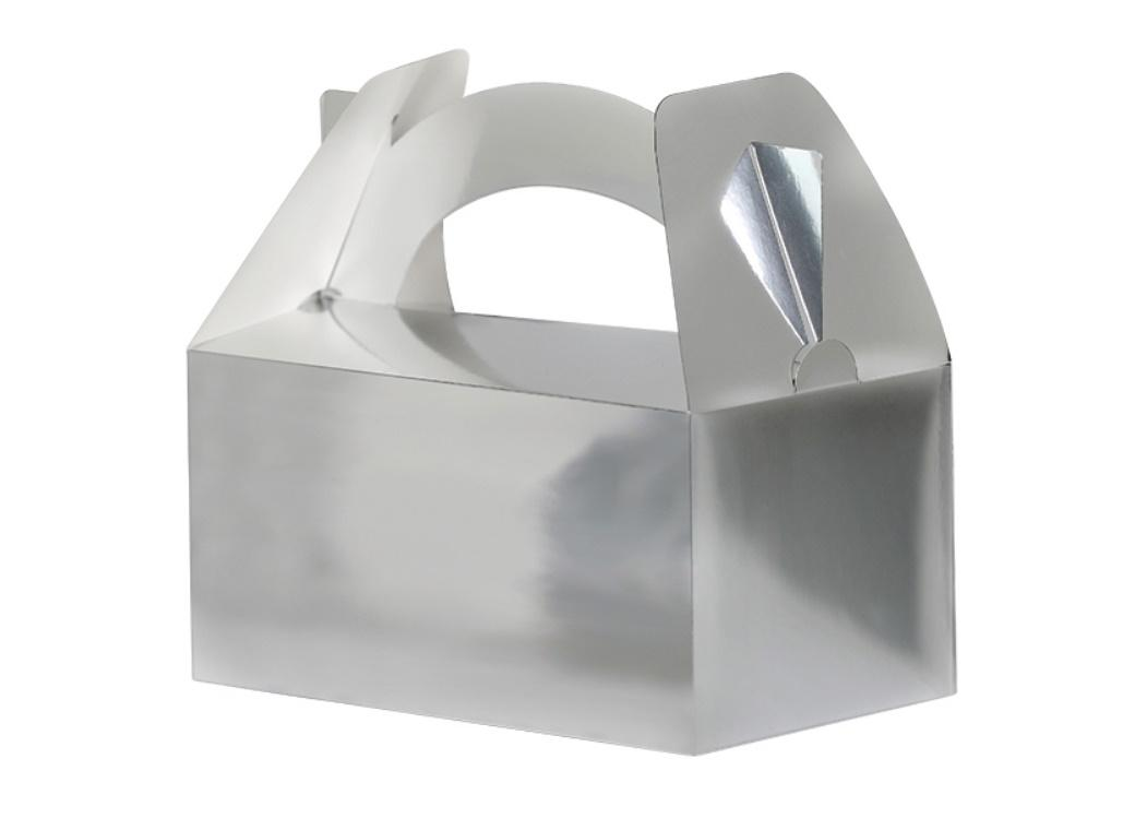 Lunch Boxes 5pk Silver