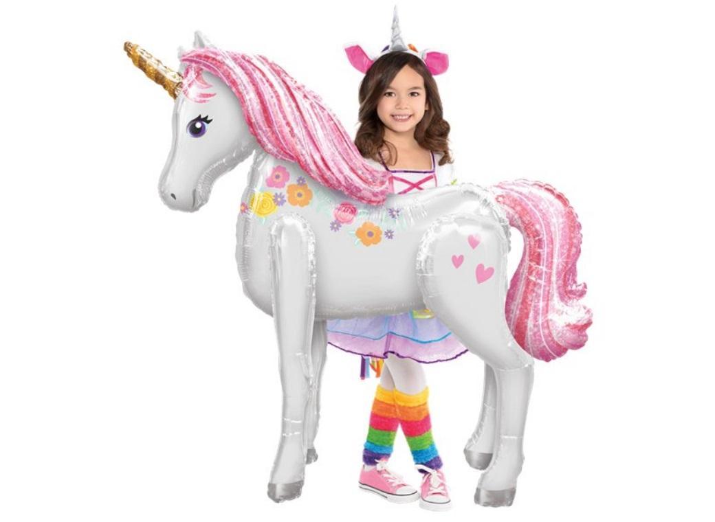 Magical Unicorn Airwalker Foil Balloon