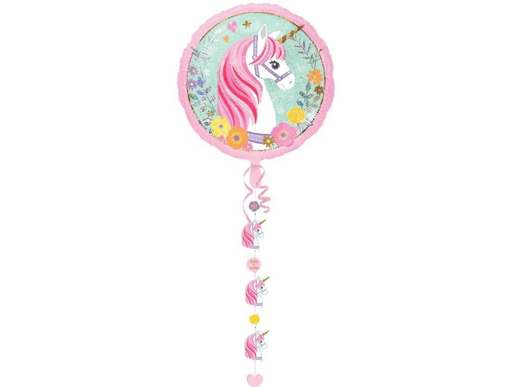 Magical Unicorn Shape Balloon Tassel Kit