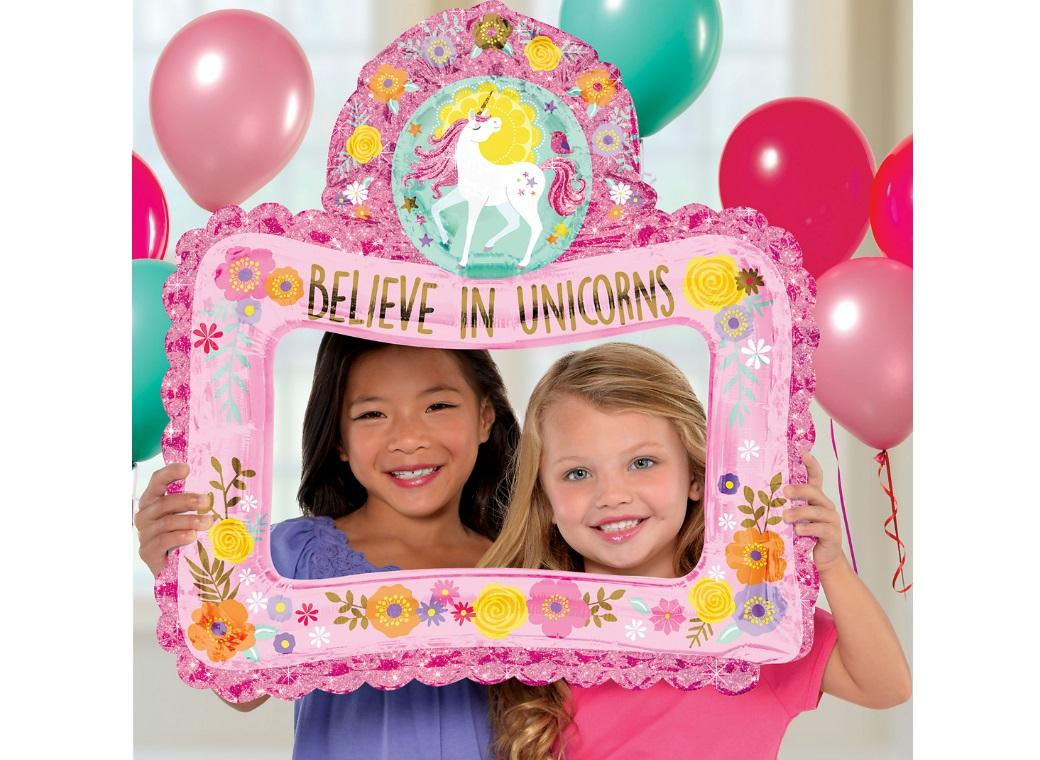 Magical Unicorn Inflatable Photo Frame