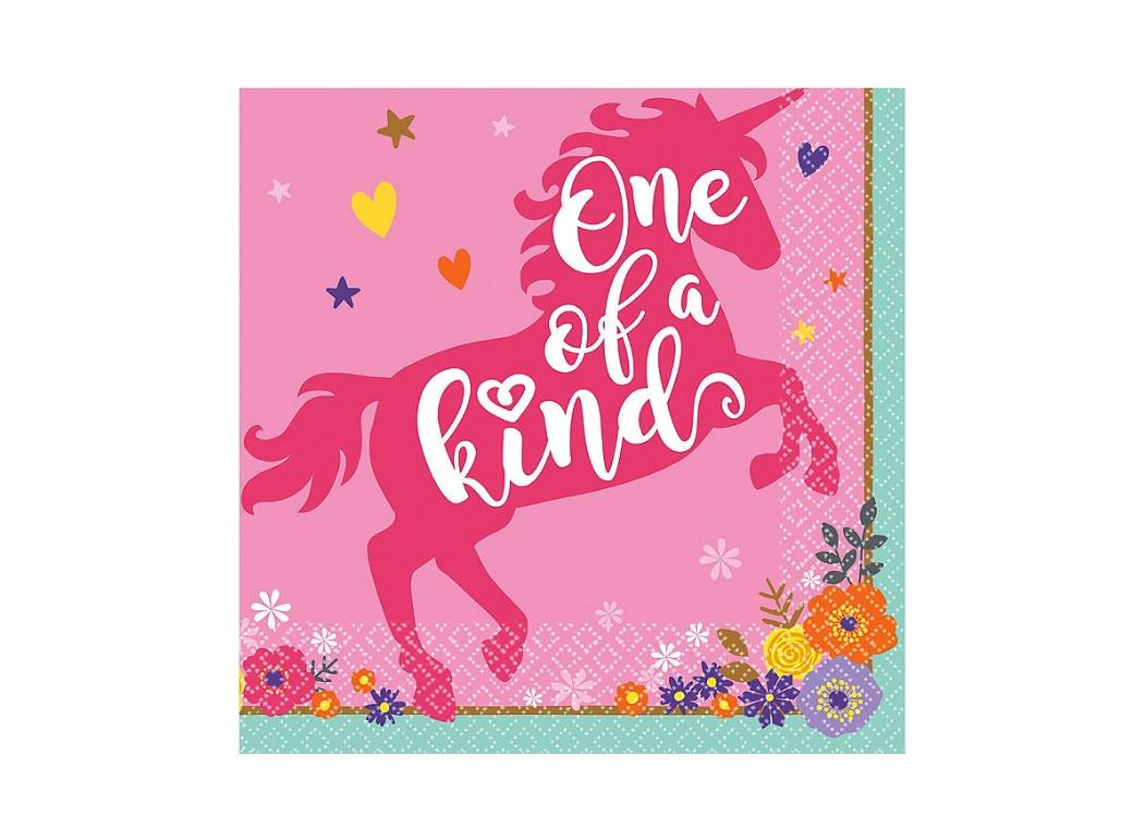 Magical Unicorn One of a Kind Napkins 16pk