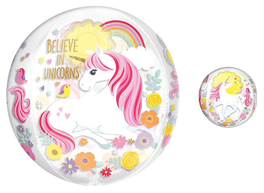 Magical Unicorn Orbz Balloon