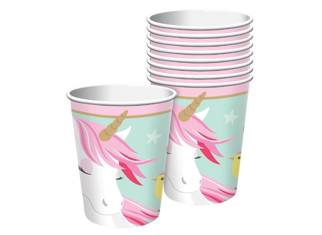 Magical Unicorn Cups 8pk