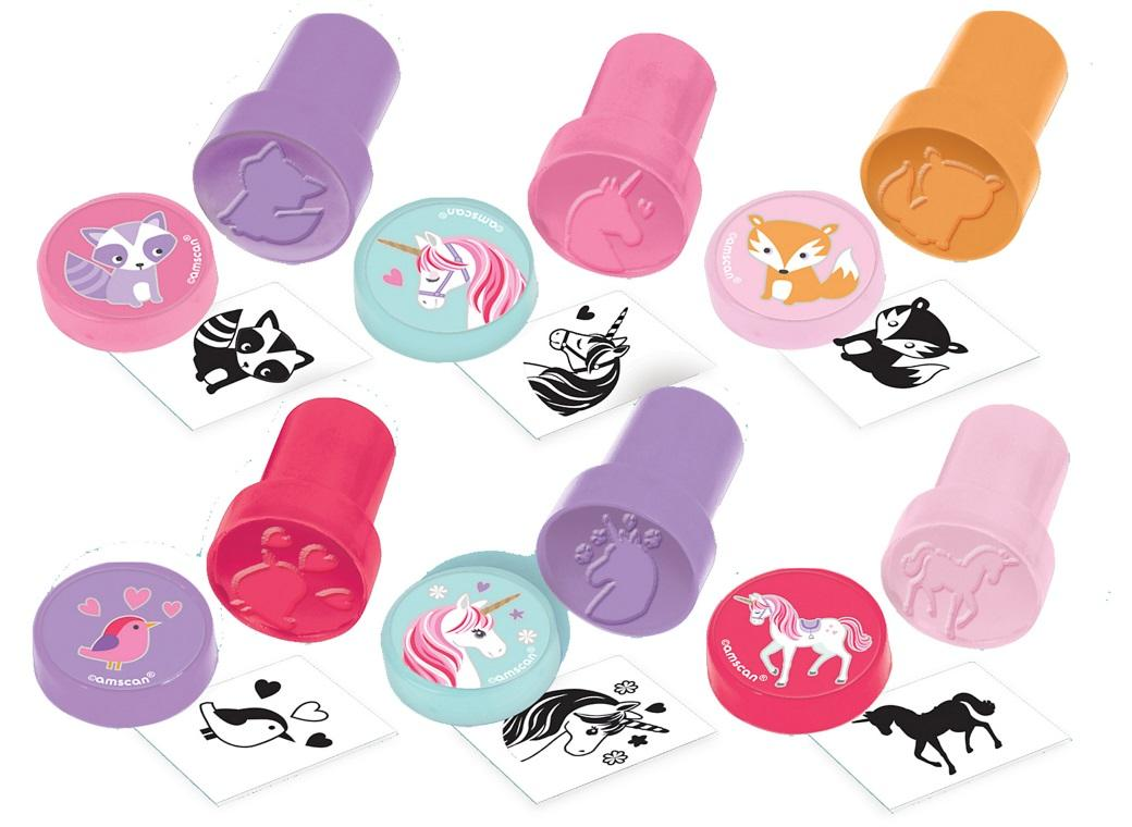 Magical Unicorn Stampers 6pk
