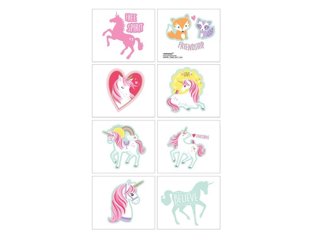 Magical Unicorn Tattoos