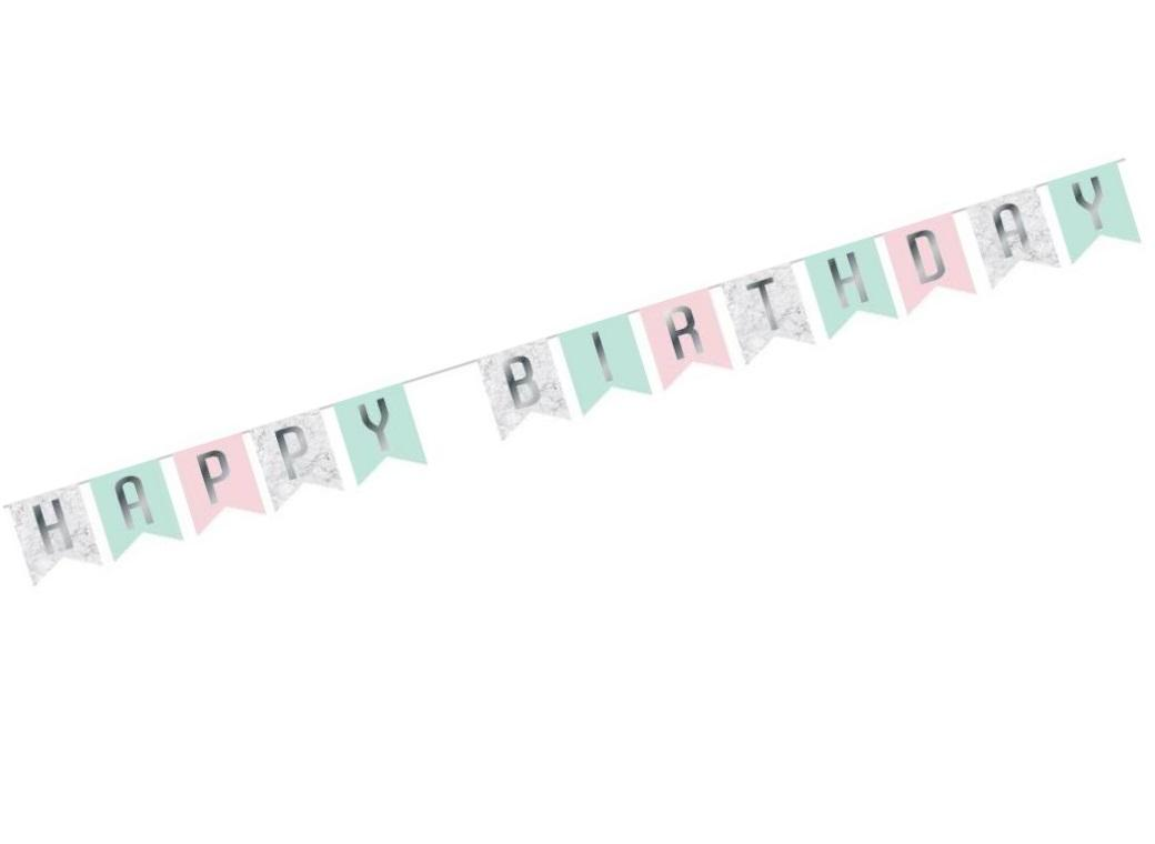 Party Bunting - Marble