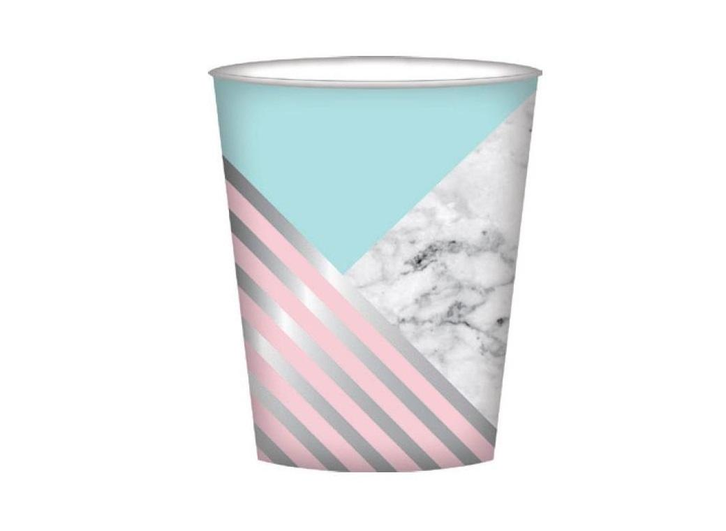 Marble Party Cups - 8pk