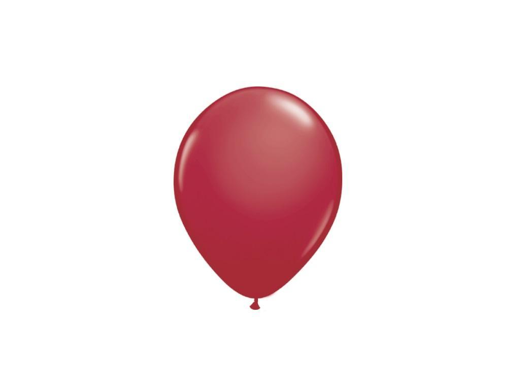 Maroon 5in Balloons 5pk