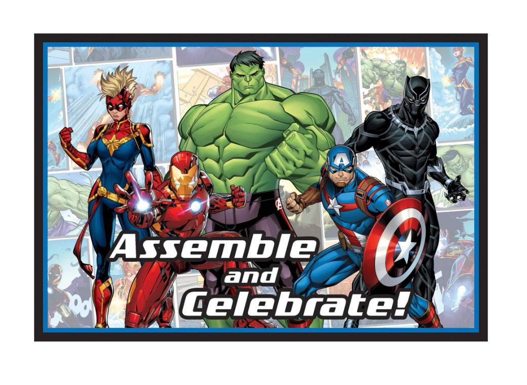 Marvel Avengers Invitations 8pk