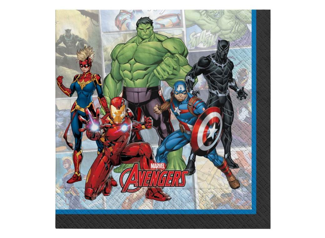 Marvel Avengers Lunch Napkins 16pk