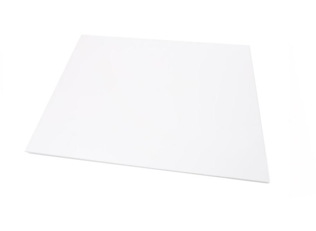 White Masonite Cake Board Rectangle