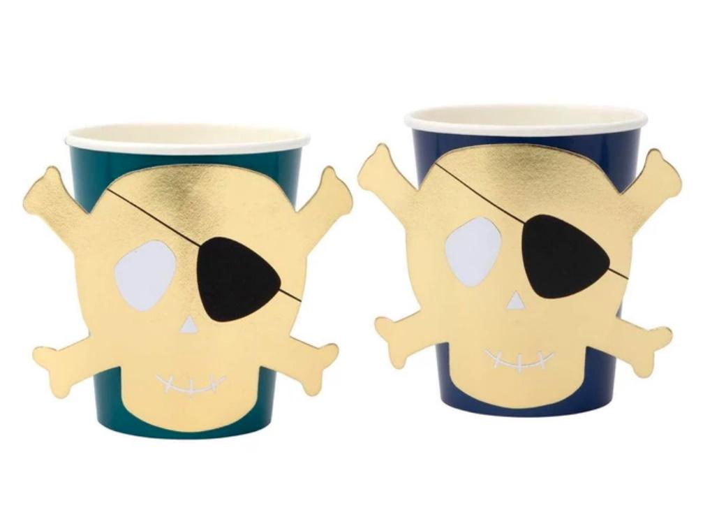 Meri Meri Pirates Bounty Cups 8pk