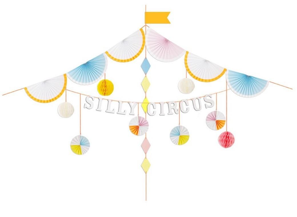 Meri Meri Silly Circus - Garland Kit