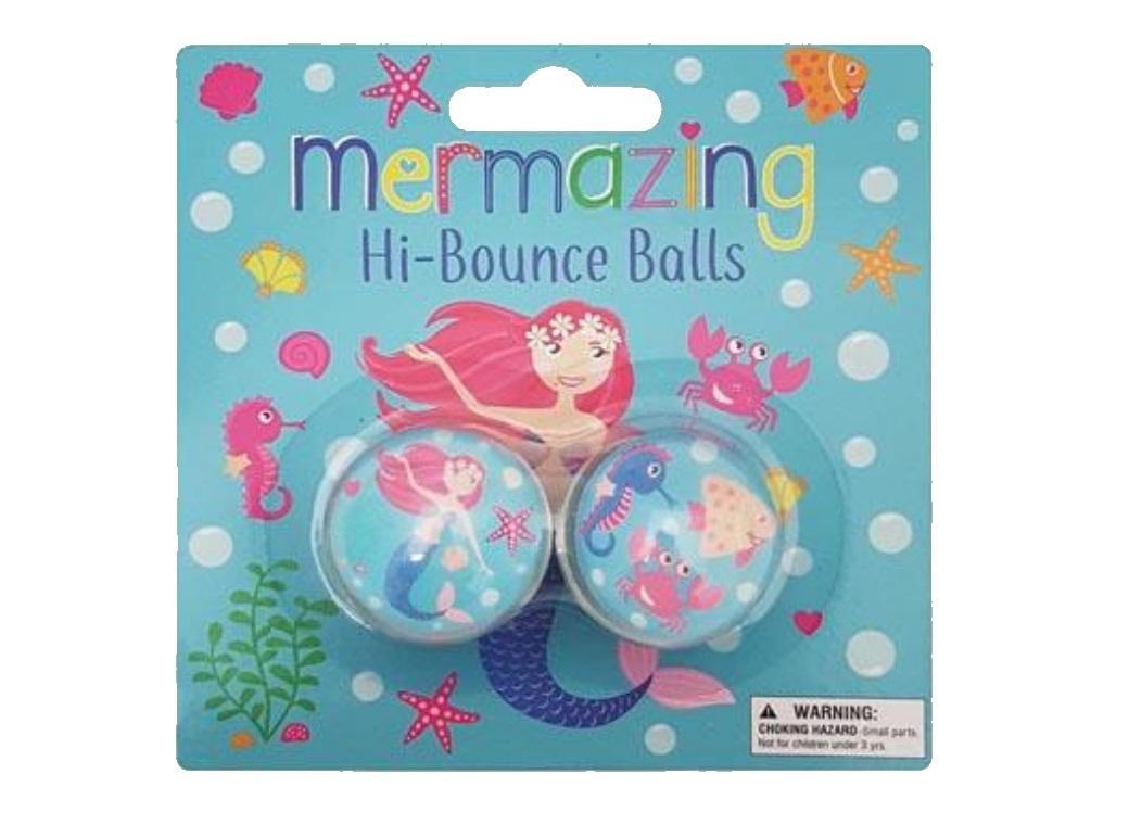 Mermaid Bounce Balls 2pk