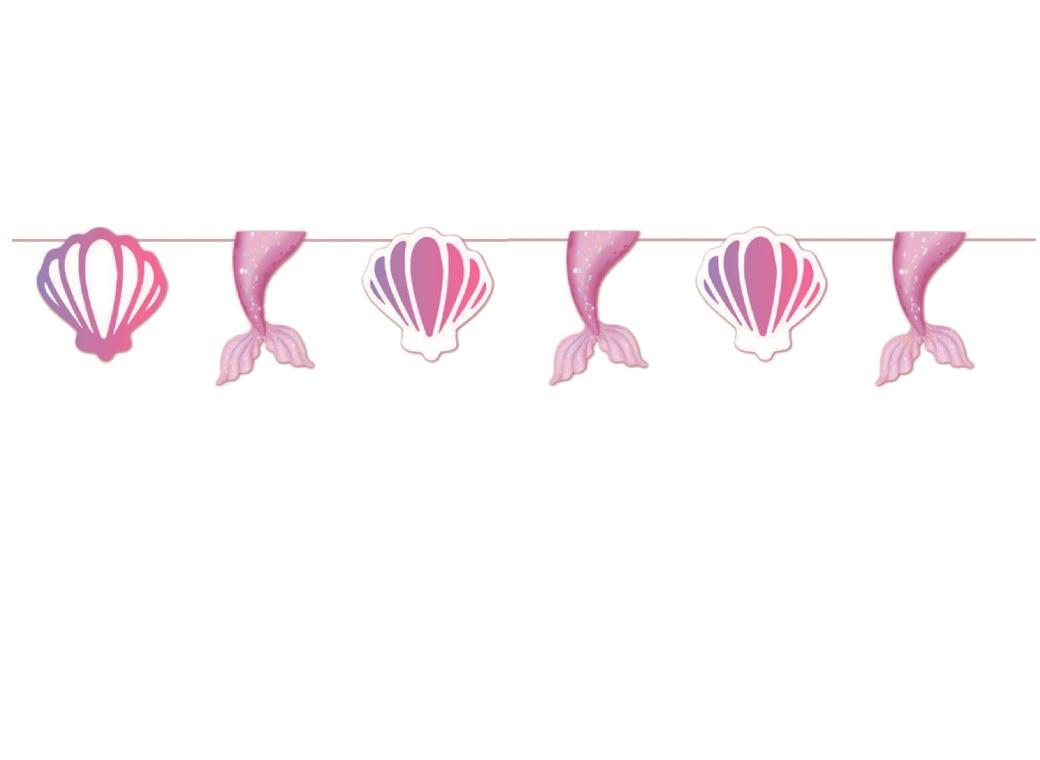 Mermaid Party Bunting