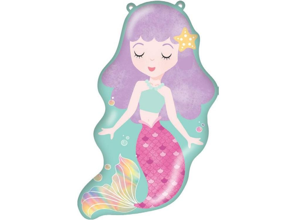 Pretty Mermaid SuperShape Foil Balloon