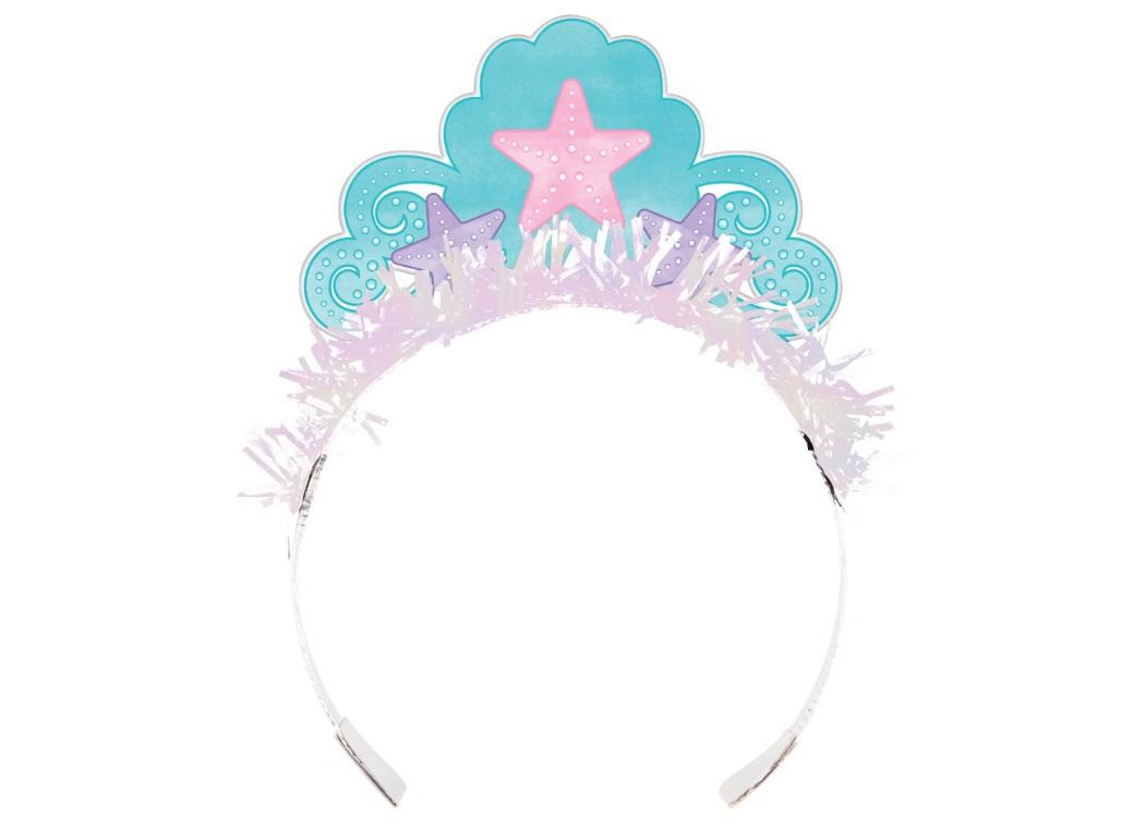 Mermaid Shine Tiaras 8pk