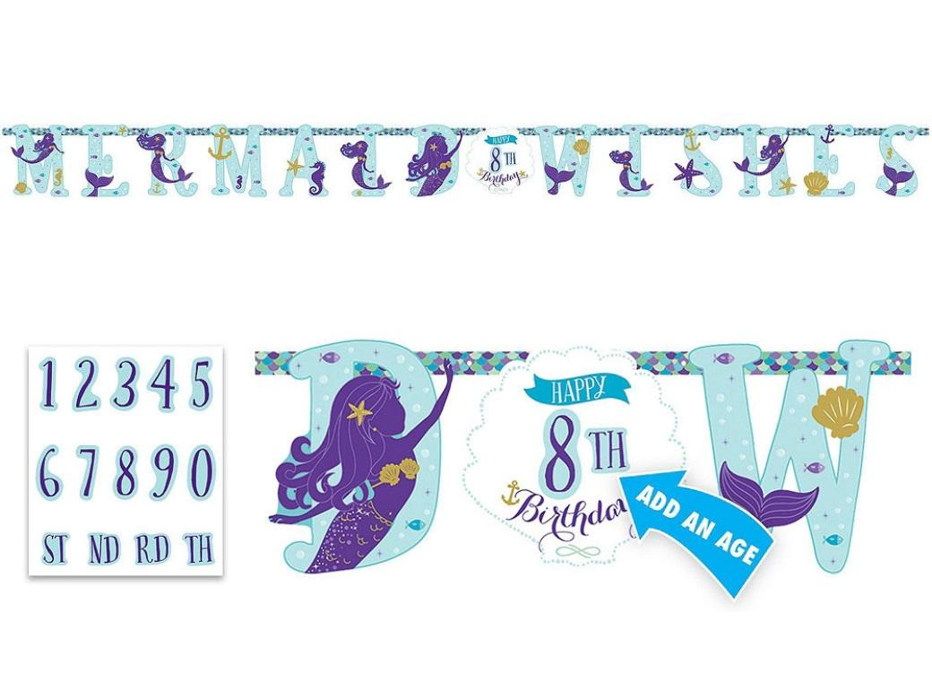 Mermaid Wishes Add An Age Banner