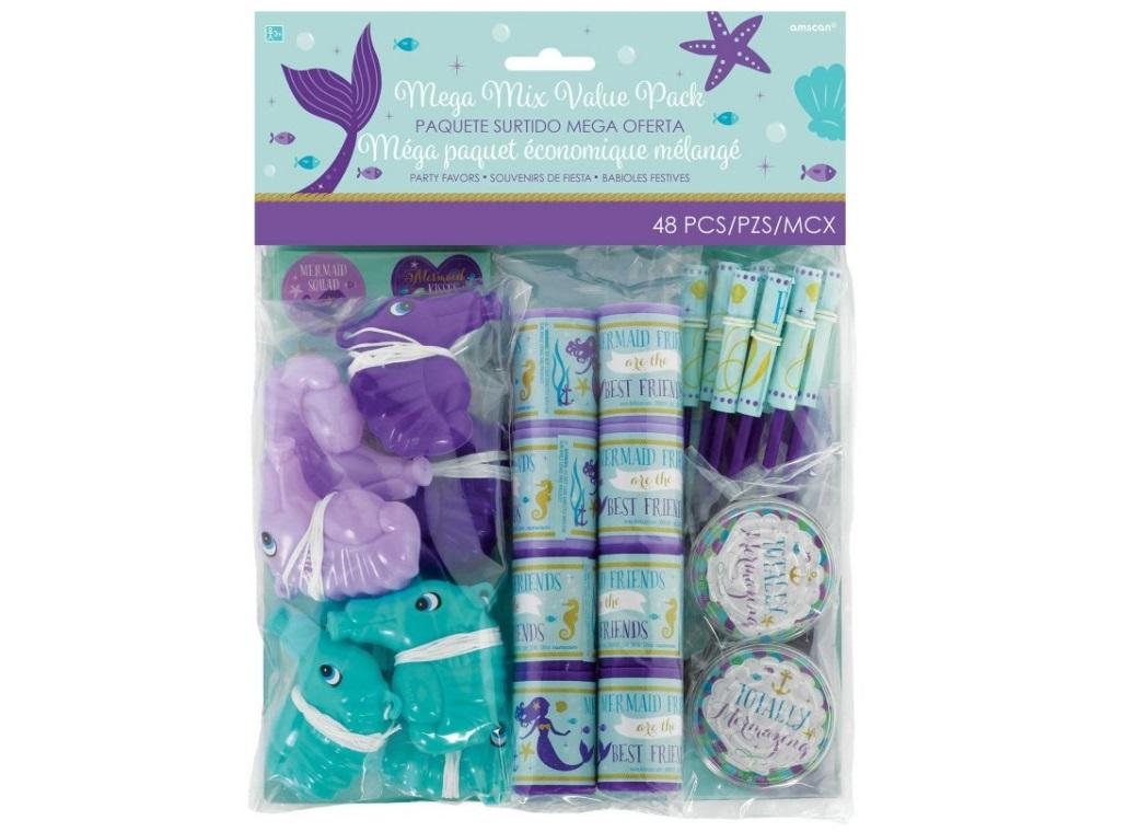 Mermaid Wishes Mega 48pce Favour Pack