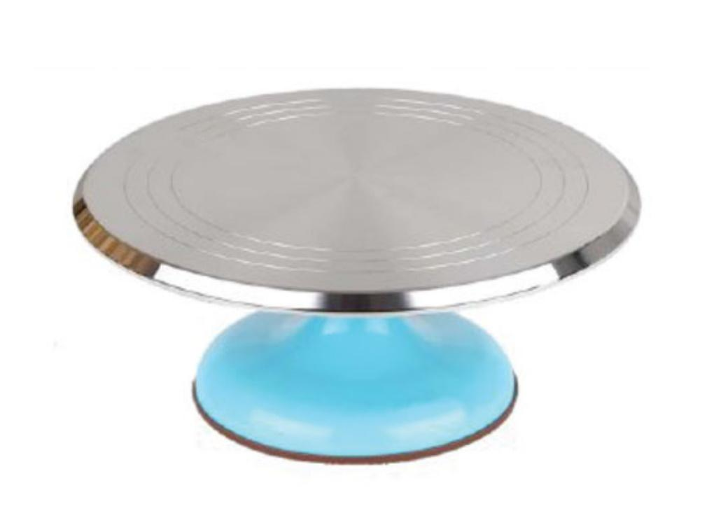 Metal Turntable - Blue Base